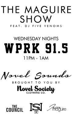 Check out Dj Five Venoms on WPRK 95.1FM Orlando FL #senatedjs #senatelife #fivevenoms #orlando