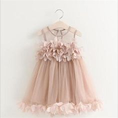 Princess Party Dress For Girls - 2-7 Years Old