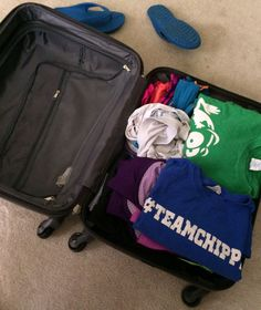 All packed! Where is your next packed suitcase taking you? #travel