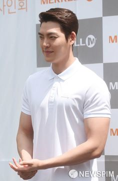 GUY CANDY: Kim Woo Bin shows off his impressive new arm muscles