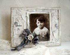 Mintun askartelujutut: Vintage boy card - Alma`s Sewing Room, Pion Design