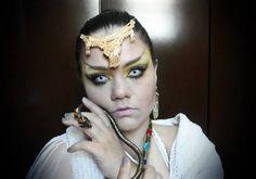 Snake Queen Makeup Maquiagem Rainha das Serpentes by Melina Beraldo