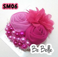 Jual Bros - Jakarta Barat - Be Belle Flower Brooch, Ribbons, Fabric Crafts, Brooches, Fun Crafts, Hair Bows, Hair Clips, Hair Accessories, Flowers