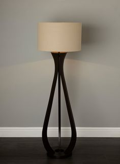 turned wood tripod floor lamp - Google Search | Lighting Inspiration ...