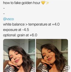 Vsco filters: how to fake golden hour! Photography Filters, Photography Editing, Creative Photography, Photography Hacks, Photography Equipment, Artistic Photography, Exposure Photography, Photography Lighting, Photography Business