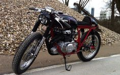 Honda CB350 Cafe Racer by Tim