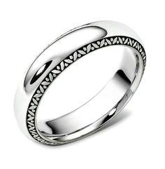 spartan man's wedding ring