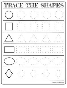 Free printable shapes worksheets for toddlers and preschoolers. Preschool shapes activities such as find and color, tracing shapes and shapes coloring pages. toddlers and preschoolers Free printable shapes worksheets for toddlers and preschoolers Preschool Forms, Preschool Prep, Preschool Writing, Free Preschool, Kindergarten Shapes, Toddler Worksheets, Preschool Printables Free Worksheets, Worksheets For Preschoolers, Shapes Worksheet Kindergarten