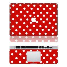 Macbook Protective Decals Stickers Mac Cover Skins Vinyl Case for Apple Laptop Macbook Pro/Macbook Air--Dot