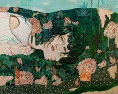Paintings and illustrations by Alexandra Levasseur | http://ineedaguide.blogspot.com/2015/02/alexandra-levasseur.html #art #paintings #illustrations