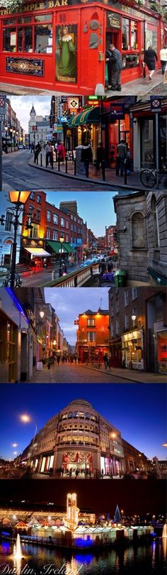 Dublin, I want to visit Dublin so bad! I promise myself that I will someday soon