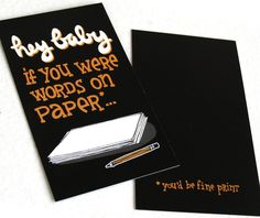 Funny Pickup Line Cards With Illustrated Typography Will Make You Laugh - DesignTAXI.com