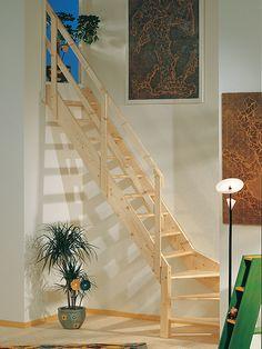 Escalera recta, modelo NORMANDIA de Maydisa