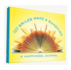 101 Smiles Make A Sunshine A Happiness Journal Book| Inspirational Diary, Unique Graduation Gift, Mothers Day Gift for Mom, Gratitude Journal, Cool Gift, Teen, Girlfriend | Catching Fireflies