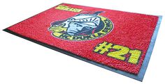 Custom graphic floor mats