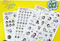 Free shipping korea diary sticker / notebook / cell mobile phone/ laptop /computer /refrigerator / window decoration sticker-in Other Office  School Supplies from Office  School Supplies on Aliexpress.com $108.00