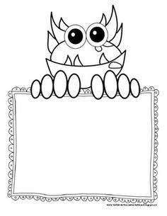 clipart cute monsters - Buscar con Google