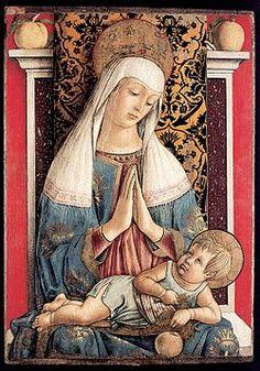 Carlo Crivelli - La Madonna di Poggio Bretta è un dipinto a tempera e oro su tavola (71x50 cm) attribuita a Carlo Crivelli, databile al 1472 circa e conservato nel Museo diocesano di Ascoli Piceno.