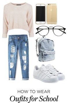 7 stylish ways to wear sneakers at school - school-outfits.com