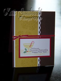 Stampin' Up! Happy Hour Holiday Cheer