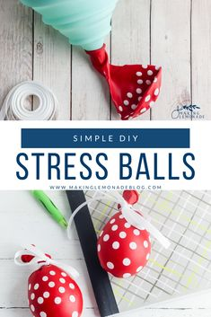 Get the quick tutorial for how to make your own DIY stress balls for managing stress and anxiety. These are GREAT for kids and homework!