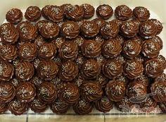 Diós-csokoládés kosárkák