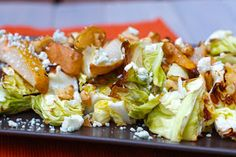 The Sweets Life: Roasted Cabbage and Pear Salad