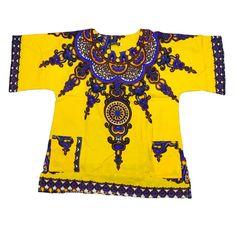 African Clothes Hippie Shirt Caftan Vintage Tribal Mexican Top Bazin Riche…