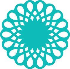 View Design #26098: doily lace circle