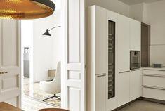 Proyecto de interiorismo en vivienda piso modernista con pavimentos hidràulicos en el Eixamble de Barcelona