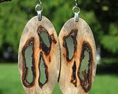 These ultra light weight earrings are stunner earrings. Buckeye Burl from a Californian Chestnut tree is one of the most attractive burls Wood Earrings, Etsy Earrings, Wooden Jewelry, Unique Jewelry, Buckeye Burl, Great Artists, Washer Necklace, Jewelry Making, Pendants