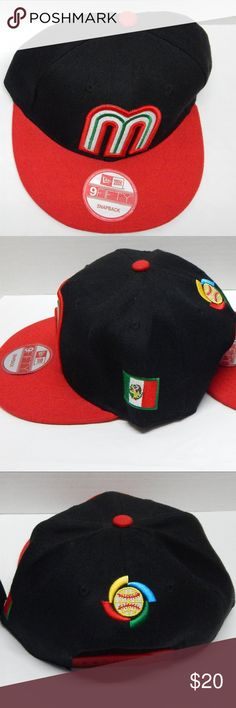 7b3a4dd415016 🌟Mexico World Baseball Classic WBC New Era Mexico World Baseball Classic  WBC New Era Snapback Hat Cap adjustable. New Era Accessories Hats