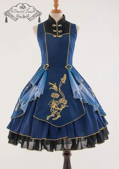 This looks like Lucy's dress from fairy tail 😊 Pretty Dresses, Women's Dresses, Beautiful Dresses, Dress Outfits, Dress Up, Cute Outfits, Fashion Outfits, Frock Dress, Woman Outfits