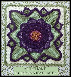 Gotta have this one! Ravelry: Artichoke pattern by Donna Kay Lacey.... #crochet_inspiration ....