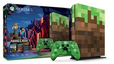 Pack Minecraft édition limitée pour Xbox One S (1 To)
