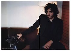 Vincent Gallo | Dutch Magazine Netherlands, No. 29, Sept./Oct.2000 Michael Sanders, Vincent Gallo, Love And Lust, Daddy Issues, Celebs, Celebrities, Pretty Boys, Metal Working, Actors & Actresses