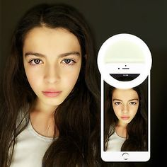 Led Selfie Ring Light, Ring Lamp, Police Officer Gifts, Ipad Tablet, Cool Gadgets, Android, Iphone, Rings, Kawaii