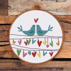 Funny & Cute - Ritacuna Everything Cross Stitch, Simple Cross Stitch, Funny Cross Stitch Patterns, Cross Stitch Designs, Cross Stitching, Cross Stitch Embroidery, Etsy, Vintage, Stitch Kit
