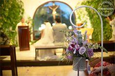 colgantes pára pasillos de bodas   #LMarreglos #flores #colgantes #decoracion
