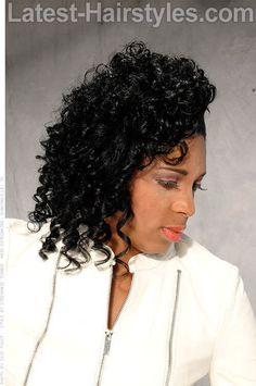 Tosseled Sidesweep Shoulder Length Hair Styles 2