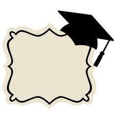 Silhouette Design Store - New Designs Graduation Images, Graduation Templates, Graduation Crafts, Kindergarten Graduation, Graduation Decorations, Graduation Party Decor, Grad Parties, Graduation Ideas, Congratulations Graduate