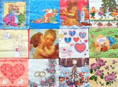Mix 5 - Napkins for Decoupage, Decoupage Shop