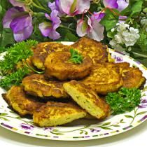 Leek and Potato Fritters Recipe