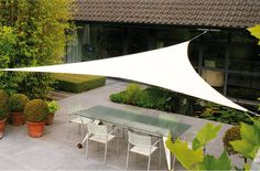 Umbrosa modern umbrellas cover expansive spaces too, like the Ingenua Triangle Shade. http://www.yliving.com/blog/umbrosa-modern-umbrellas/