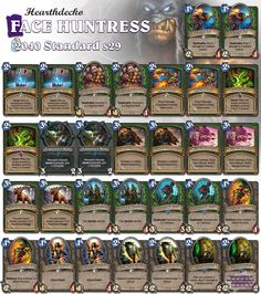 Face is the place with this deck! any thoughts? #Hearthstone #StandardHunter