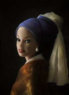 Barbie with a Pearl Earring