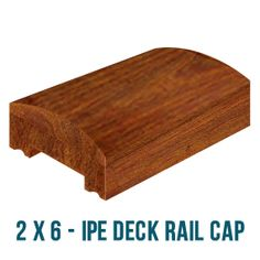 Best 5 4X4 Ipe Wood Deck Railing Cap Cool Deck Stuff Wood 400 x 300