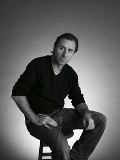 Gorgeous... Tim Roth, male actor, celeb. Cal Lightman on Lie to Me, great tv, show, portrait, photo b/w.
