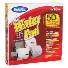 BestAir A10W Aprilaire 10 Paper Wick Waterpad by BestAir. $10.21. High Output. Wicking paper waterpad. Water efficient. High Output Water Pad fits Aprilaire 110, 220, 500, 550, 550A, 558 (10); BestAir BA3200G; Desert Spring DSP-PFT, Hamilton 12HF (EP037); Thermolec 500/550/Pro 600; Evolution Air Pro3000; Honeywell HE100A, HE150A, HE220A/B, HE225A/B; Lasko 5000L, 5000EC, 6000, Lennox WB2-12, WB212; Chippewa 220