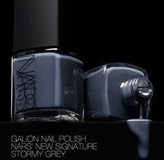 Grey polish -- huge trend this fall/winter.